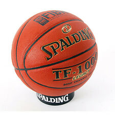 Spalding TF-1000 Legacy Basketball Size 7 Indoor Gameball Authentic FIBA 74-450Z
