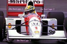 Ayrton Senna McLaren MP4/7A Canadian Grand Prix 1992 Photograph 2