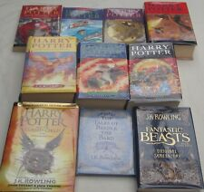 J.K.ROWLING - 10 OF HER BESTSELLERS -ALL 1st EDITIONS - 8 HARRY POTTER- PLUS