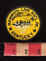 Vtg MAMMOTH CAVE NATIONAL PARK Kentucky Tourist Attraction Patch 85V6