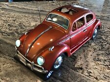Vintage Volkswagen Japanese Tin Toy Car Runs And Lights Up. Original Owner.