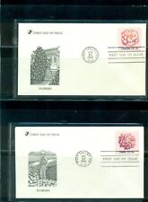 1981 Flowers set #1876-79 on unaddressed Readers Digest cachet FDC
