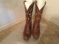 ARIAT STYLE# 10006310 WOMEN'S SONORA BROWN LEATHER WESTERN BOOTS SIZE 8 B