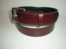 S4 35 MM LEATHER BELTS IN BLACK, BROWN,NAVY,BURGUNDY GREEN TAN AND WHITE S - XXL