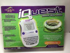 Quantum Leap Iquest Interactive Talking Handheld w/ Mind Station #40016 Nib