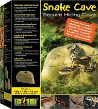 EXO TERRA SNAKE CAVE SECURE HIDING REPTILE CAVE - SMALL