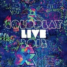 COLDPLAY - LIVE 2012  CD + DVD POP INTERNATIONAL NEUF