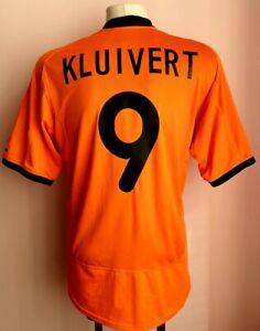 Netherlands 2000 - 2002 Home football Nike shirt Kluivert