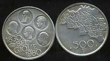 BELGIQUE 500  francs  1980   ARGENT  SILVER