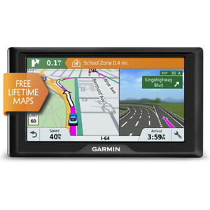 "Garmin Drive61LM 6"" GPS Automobile Navigation System w/ Lifetime Maps & Alerts"