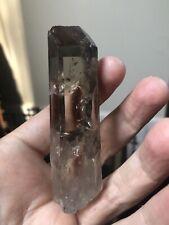 Chisel Point Quartz Natural Smoky Quartz Crystal Brazil Laser Quartz Crystal