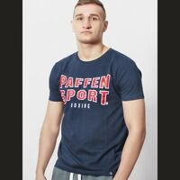 Paffen Sport Classic Logo T-Shirt Navy. Gr. S-XXL. Sport, Boxen, Fitness,