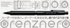 Pentel Latest Mechanical Pencil Orenznero Black 0.2mm PP3002-A
