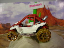 2015 DESERT FORCE Design POWER SANDER✰Wh/Red Oxide Dune buggy✰LOOSE Hot Wheels