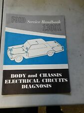 NOS 1962 1963 FORD GALAXIE FAIRLANE FALCON THUNDERBIRD BODY CHASSIS SHOP MANUAL