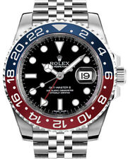 "Rolex NEW GMT-Master II Steel & Ceramic ""Pepsi"" Watch Box & Papers 126710BLRO"