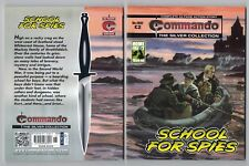 4802 Commando The Silver Collection School For Spies NEW 63 Page Story War Book