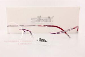 New Silhouette Eyeglass Frames TITAN NEXT GENERATION 5521 FE 4040 Orchid Pink