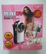 Mini DV HD Pocket Digital Video Camera. New With Case/Clip. Free Shipping