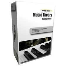 Learn Music Theory Keyboard Piano Guide Training Course PC CD