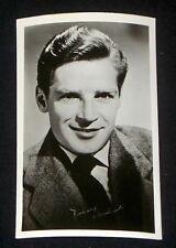 Richard Basehart 1940's 1950's Actor's Penny Arcade Photo Card Postcard