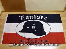 Fahnen Flagge Deutsches Reich Landser in Treue fest NEU - 90 x 150 cm