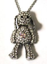 Butler and Wilson Cristal Pequeño Sooty Dog collar nuevo