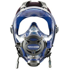 Ocean Reef Neptune Space G.divers Full Face Diving Mask Medium/Large Cobalt