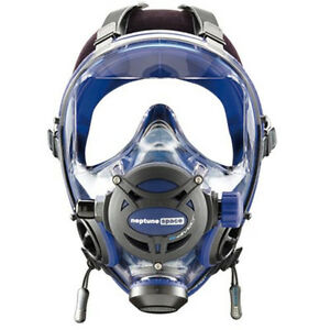 Ocean Reef Neptune Space G.divers Full Face Diving Mask Medium/Large Cobalt