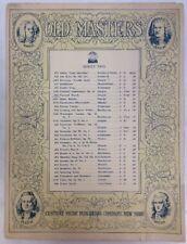 Funeral March From Sonate Ii Op 35 circa 1901 F Chopin Piano SheetNoteMusic.com