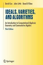 Ideals, Varieties, and Algorithms: An Introduction to Computational Algebraic