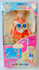 Sailor Moon SuperS Chara Talk Sailor Venus Team doll  Bandai Japan Toei 1995