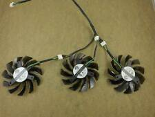 3pcs/set GPU Fan For Gigabyte GTX960 /GTX970/GTX980 Graphics Card PLD08010S12HH