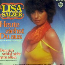 "7"" LISA SALZER Heute ziehst du aus CAROLE BAYER SAGER You're Moving Out Today WB"