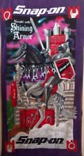 Snap On Tools Collectable Knight Eith Shining Armor.Graphic Tool Towel