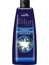 5,99EUR/100ml JOANNA ULTRA COLOR SYSTEM Blau Haarspülung, Anti Gelb 150 ml