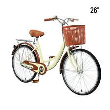 26 Zoll Damenfahrrad Fahrrad mit Korb Citybike Retro BIKE Räde Damenrad