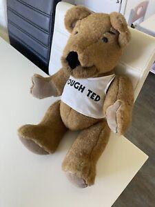 Collectable Vintage Bear TOUGH TED Original Good Condition By Golden Bear RARE