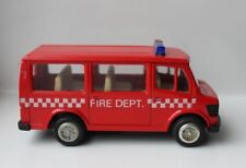 Pullback 828 MERCEDES BENZ  Fire department toy truck Very good clean condition