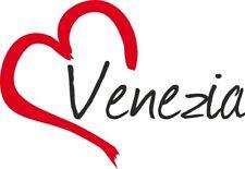 """Adesivo per auto """" VENEZIA """"(Città) cuore Sticker ca.9x13 cm taglio contorno …"""