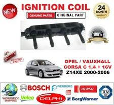 FOR OPEL VAUXHALL CORSA C 1.4 + 16V Z14XE 2000-2006 IGNITION COIL 6PIN CONNECTOR