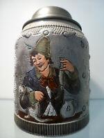 Bierkrug 0,5 Liter, Hauber & Reuther Modellnr. 172, zwischen 1882 und 1886