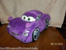 Disney Store Exclusive Cars Pixar Plush Holley Shiftwell Purple Car