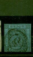Baden,Wertziffer im Quadrat, Nr. 8 gestempelt Nr. 57
