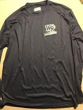 Mens West Ranch Lacrosse Long Sleeve Shirt Large L