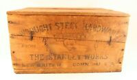 Stanley Works Wood Crate, Sweetheart Logo