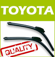 2 Escobillas Limpiaparabrisas Flexibles para Toyota RAV 4 RAV4 2006-2012 60/40cm