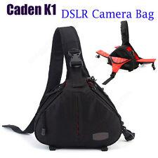 Caden K1 Water Resistance DSLR Camera Bag Case For Canon 50D 100D 550D Crossbody