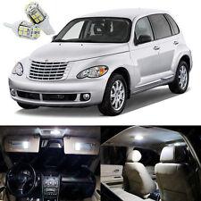 8 x White LED Interior Light Package Kit For Chrysler PT Cruiser 2001 - 2010