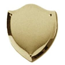 Trophy Side Shield (S027) - Gold / (Metal) - With Free Engraving